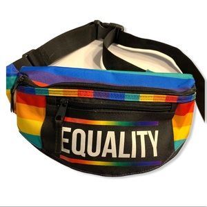 Rainbow Pride Equality Fanny Pack Hip Bag Spencers